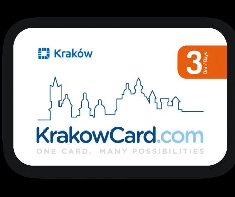 3-dniowa Krakowska Karta Turystyczna (Muzea i Transport)