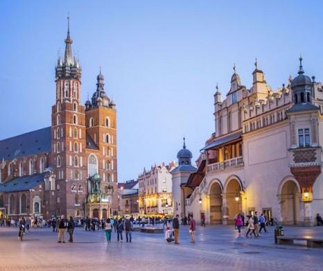 Zwiedzanie Starego Miasta i Rynku Głównego